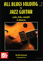 The most complete guide to jazz/blues soloing ever written. 96-page book/32-track CD.